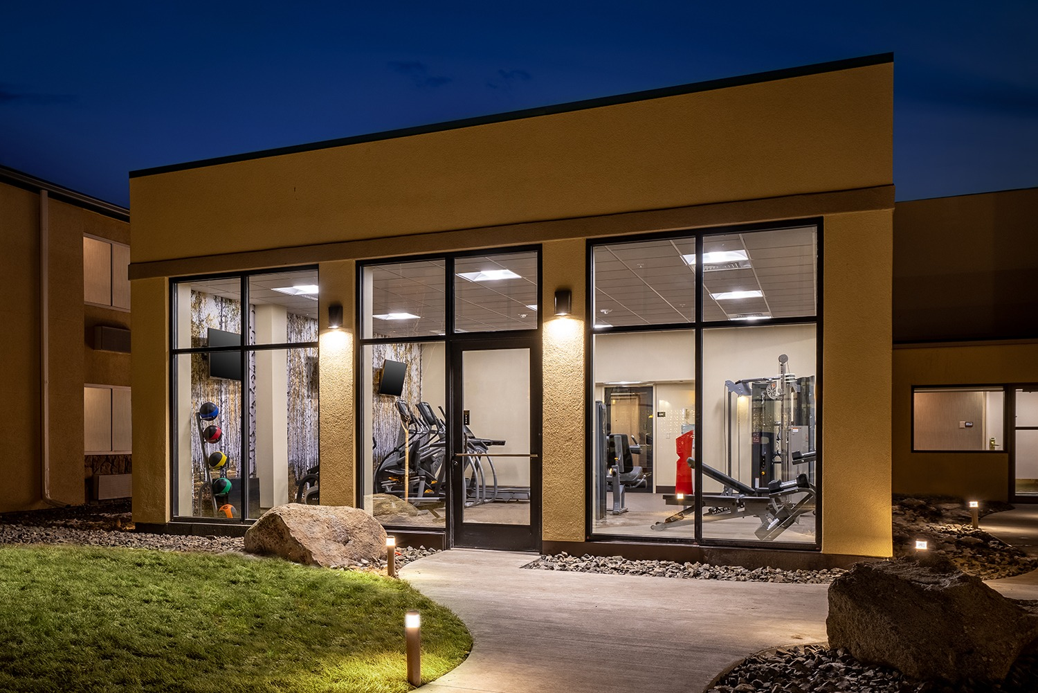 Fitness Room Outside